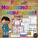 Nonstandard Measurement Length Using Cubes and Paper Clips Kindergarten & 1st