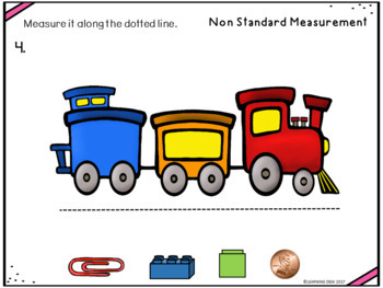 Non-Standard Unit Measurement Task Cards