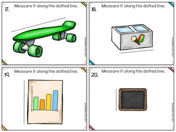 Non Standard Measurement Center (Task Cards)