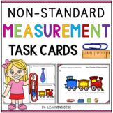 Non Standard Unit Measurement Activity (Task Cards)