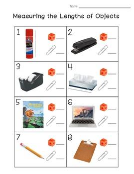 non standard measurement for first grade by. Black Bedroom Furniture Sets. Home Design Ideas