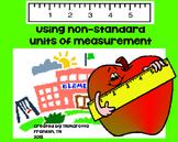 Non-Standard Measurement packet