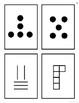 Non-Standard Subitizing Cards