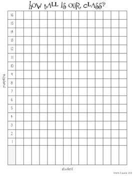 Non Standard Unit Measuring & Graphing {ccss K-2}