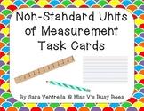 Non-Standard Units of Measurement Task Cards FREEBIE