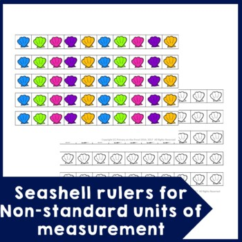 Non-Standard Units of Measurement and Standard Units of Measurement Beach Theme