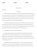 Non-Traditional Hero Personal Narrative Essay