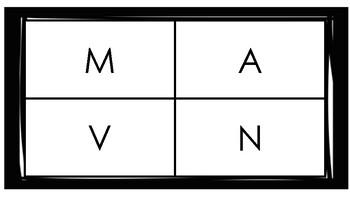 Non-Verbal Assessment for Upper Case letters