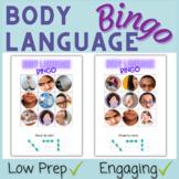 Non-Verbal Body Language Bingo Game