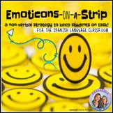 Para Mejor Participación: Emoticons on a Strip * Non-Verbal Classroom Management