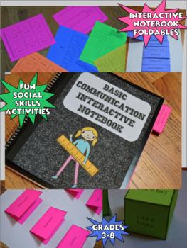Basic Communication Interactive Notebook (Social Thinking)