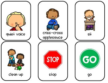 Non-Verbal Cue Cards
