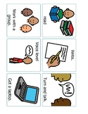 Non-Verbal  / ELL Instruction Cards