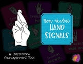 Non-Verbal Hand Signals for Classroom Management
