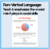 Non-Verbal Language:Teach & emphasize the crucial role it plays in social skills