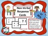 Non-Verbal Response Cards