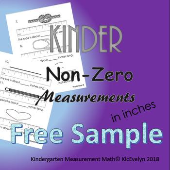 Non Zero Measurement in Inches!