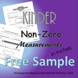 Non Zero Measurement in Inches! Free Sample