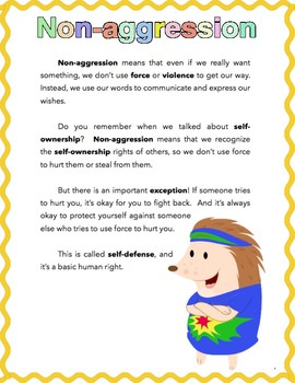 Non-aggression for Kids