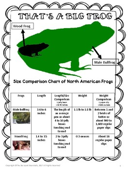 Amphibians-North American Bullfrogs Non-fiction Text - Imperial