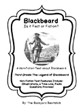 Non-fiction 3rd Grade Reading Passage: The Legend of Blackbeard the Pirate