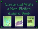 Non-fiction Animal Book - Writing Project