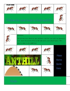 Non-fiction Ant Board Game