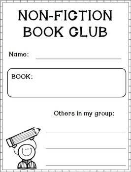 Non-fiction Book Clubs -- A Student Workbook (Distance Learning Packet)