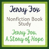 Terry Fox Book Study, A Story of Hope