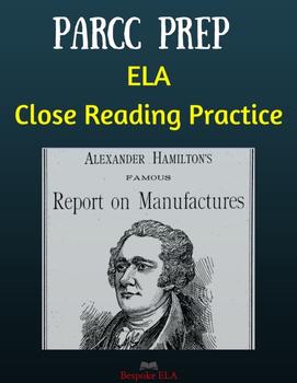 Nonfiction Close Reading Practice with Alexander Hamilton-
