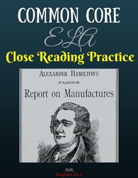 Nonfiction Close Reading Practice-- PARCC and Common Core