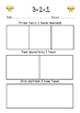 Non fiction Comprehension Graphic Organisers