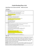 Non-fiction Guided Reading Lesson: Throw Your Tooth on the Roof