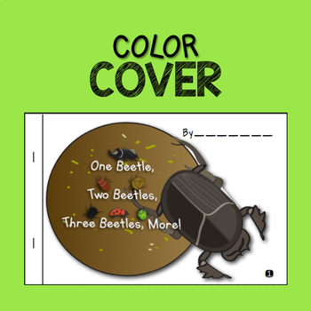 Non-fiction Insect Mini-Books One Beetle, Two beetles, Three Beetles, More