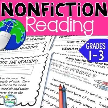 Nonfiction Graphic Organizers Grade 2