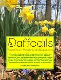 Non-fiction Reading: Daffodils
