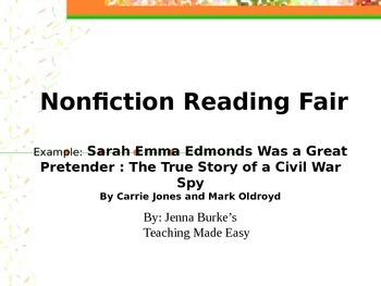 Non-fiction Reading Fair Project