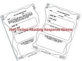 Non-fiction Reading Response Worksheets