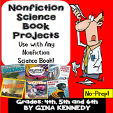 Nonfiction Science Books Projects! Perfect for Any Science Trade Book!