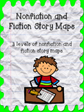 Nonfiction and Fiction Story Maps for Lower Grades