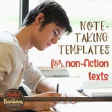 Note-Taking Template for Non-Fiction Texts