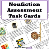 Nonfiction Assessment Task Cards
