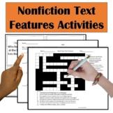 #SPRINGSAVINGS Nonfiction Text Feature Activities