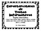 Non-fiction Text Features in Spanish / Características de