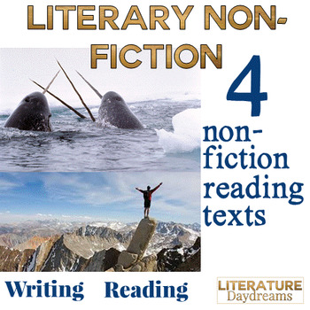 Non-fiction Texts - Reading and Writing tasks