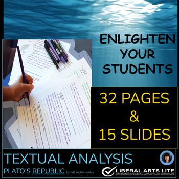Plato S Republic Worksheets Teaching Resources TpT