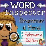 Grammar Worksheets {February Passages & Questions}