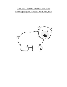 Non-fiction polar bear close read with text-dependent questions