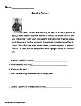 Non-fiction text Famous Women Biographies