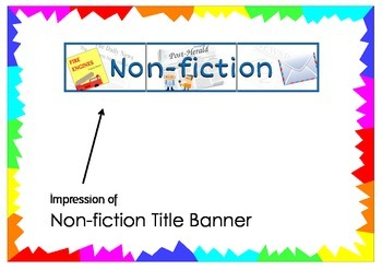 Non-fiction Title Banner